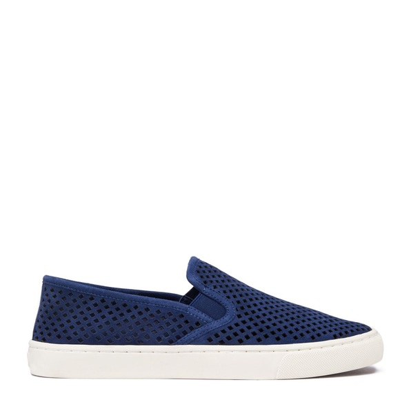 b9be36d3f732 NEW Tory Burch Jesse suede perforated sneaker